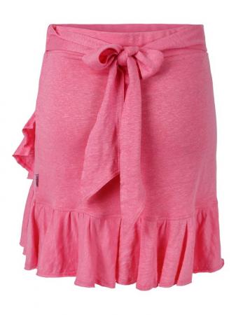 Juliette Linen Skirt Pink