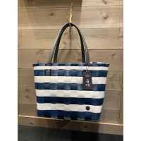 Vintage shopper ocean blue
