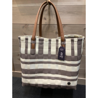 Lumberjack shopper stone brown&cream white