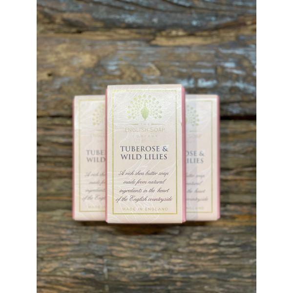 Pure indulgence såpe tuberose&wild lilies