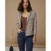 Minus Jolan knit tee brown sugar MI3038