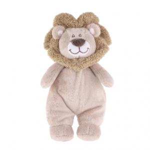 Løve med rangle 20cm