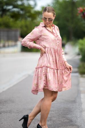 Penny Dress - Gardenia Blush