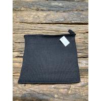 Grytelapp svart strikket