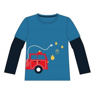 James langermet t-skjorte brannbil
