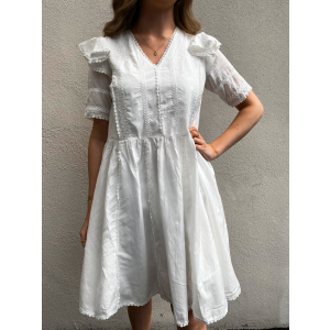 Lovett Dress - Star White