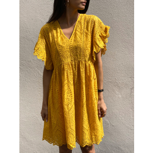 Rose Dress - Golden Rod