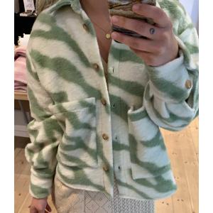 Viksa jakke kort Wave grønn