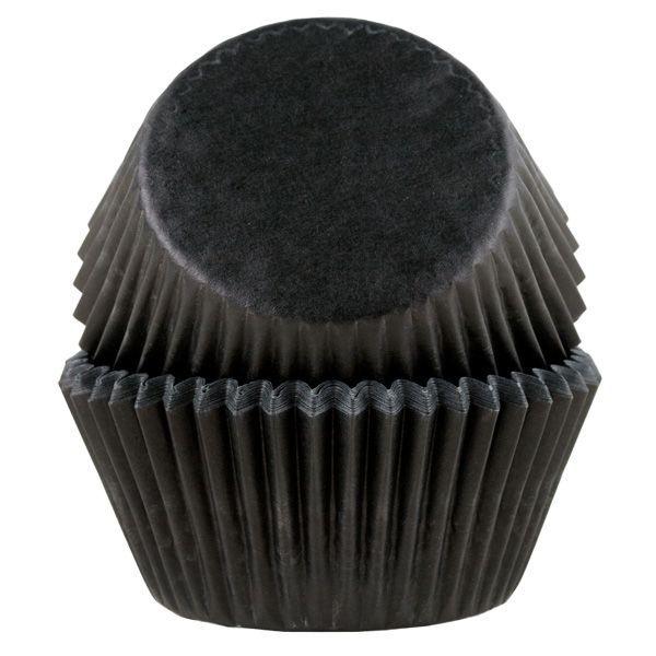 Muffinsform STD Svart, 50 stk