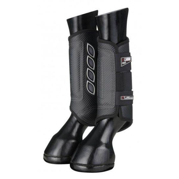 LeMieux Carbon Air XC Boots Black Hind