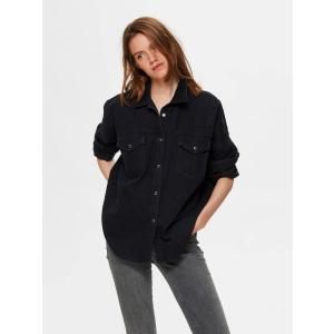 Ally jeansskjorte sort
