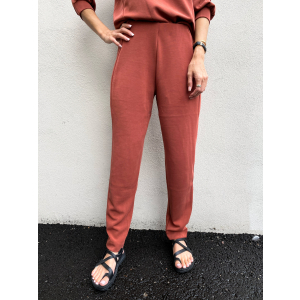 Tenny Ankle Pant - Smoked Paprika