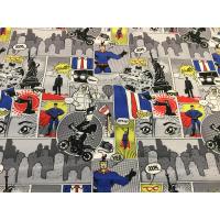 Jersey digitalprint cartoon supermann