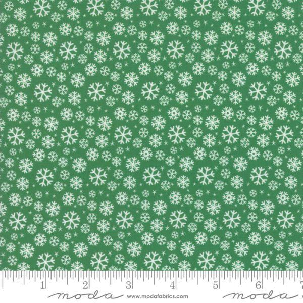 Jolly season flakes green