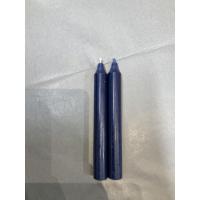 Rustikklys navy blå
