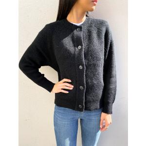 Lulu Knit Short Cardigan - Black