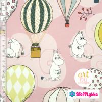 Luftballong- lys rosa