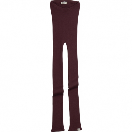 MINIMALISMA - ARONA LEGGINGS RAISIN