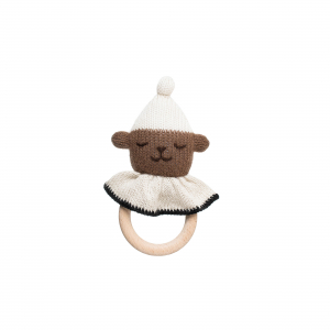 Main Sauvage - Teddy teething ring