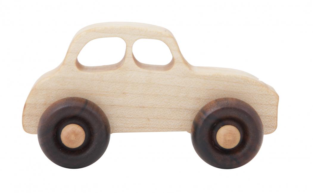 Wooden Story - Lekebil, natur