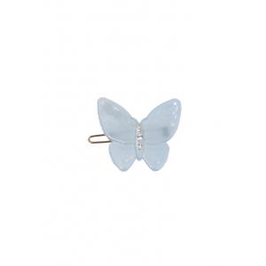 Bon Dep - Hårspenne - Butterfly clip light blue