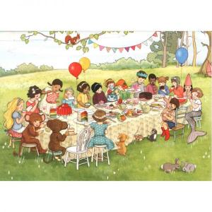 Kort - Belle og Boo - Woodland teatime