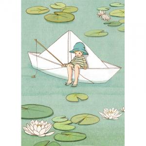 Kort - Belle og Boo - Paper boat