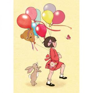 Kort - Belle og Boo - Balloons