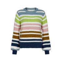 Nümph NUbexley stripe pullover 7420218