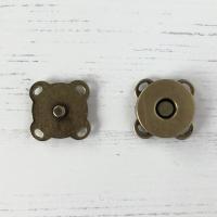 Magnetknapp bronse