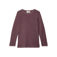 NMFWANG WOOL NEEDLE LS TOP