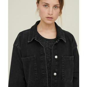 Etta denimskjorte svart