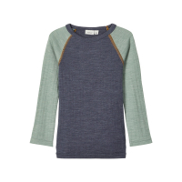 NOOS - NMMWANG WOOL NEEDLE LS TOP NOOS XX