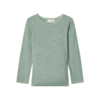 NOOS - NMFWANG WOOL NEEDLE LS TOP NOOS XX