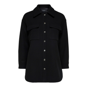 Tessa ullskjorte svart