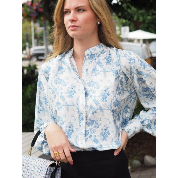 Cornelia Shirt - Blue