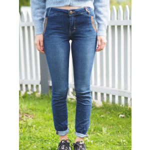 Etta Leather Jeans