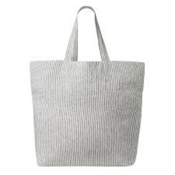 Linen bag Black Stripe