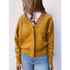 Brook knit boxy cardigan - Mango mojito