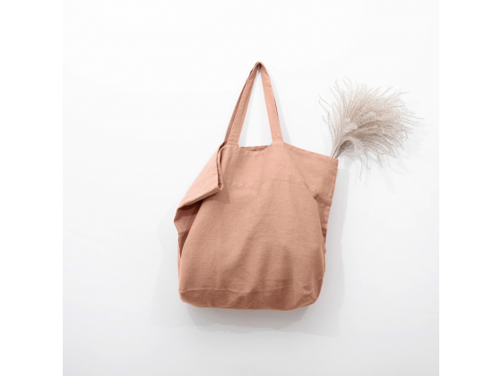 Linen bag Cafe Cream