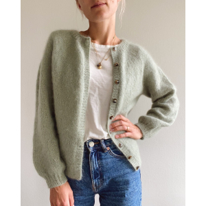 Novice  Cardigan ­ Mohair Edition