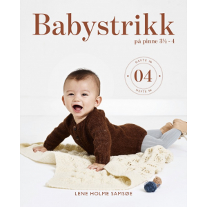 Babystrikk på pinne 3 ½ - 4, nr. 04