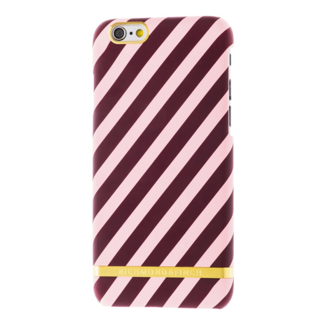 BERRY SATIN STRIPES IPHONE 6/6S