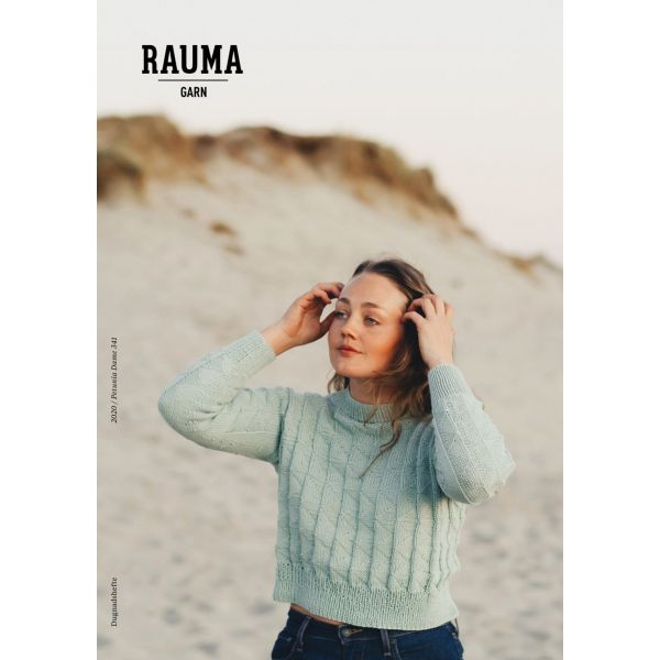 Hefte Rauma Garn - 341 Petunia Dame