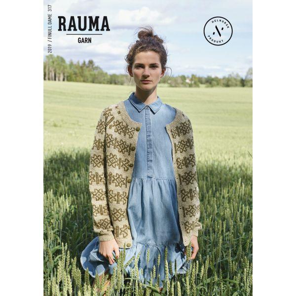 Hefte Rauma Garn - 317 Finull Dame