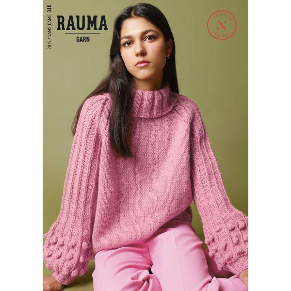Hefte Rauma Garn - 310 Vams Dame