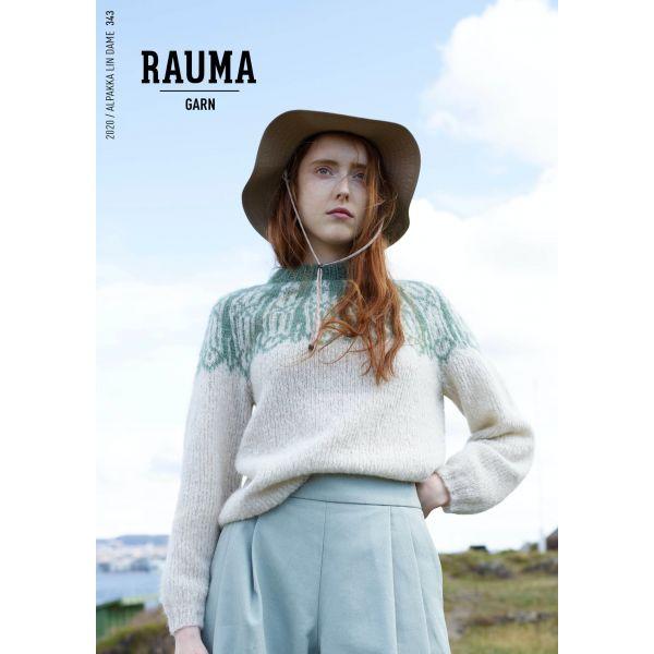 Hefte Rauma Garn - 343 Alpakka Lin Dame