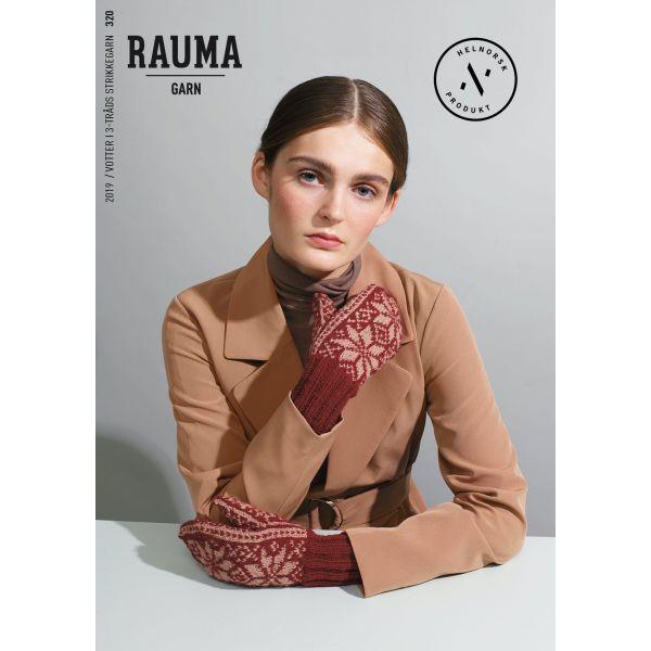Hefte Rauma Garn - 320 Votter i 3-tråds-strikkegarn