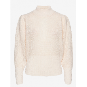 Sophy  High Neck Knit - Jet Stream