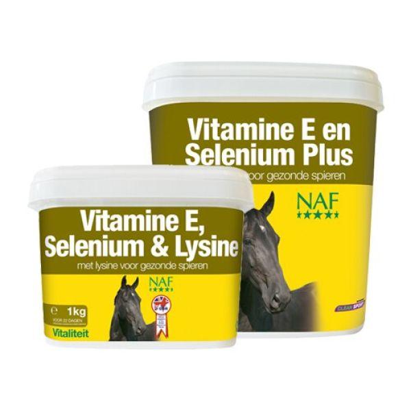 NAF Vitamin E & selen plus- 2.5kg